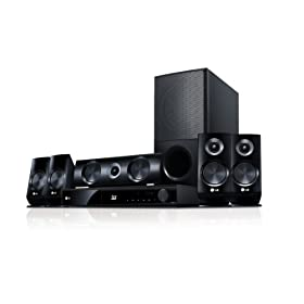 LG LHB536 1100W 3D Blu-ray Home Theater System with Smart TV Integrated Wi-Fi
