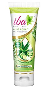 Iba Halal Care Aloe Aqua Face and Body Gel, 100g
