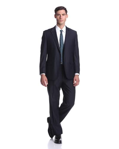 Nicole Miller Men's Peaked Lapel Suit