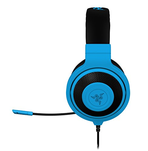 Razer Kraken Pro Over Ear PC and Music Headset, Neon Blue (RZ04-00870800-R3M1)