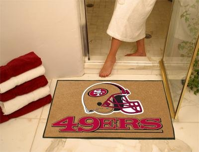 "San Francisco 49ers 34""x44.5"" All-Star Floor Mat (Rug) at Amazon.com"