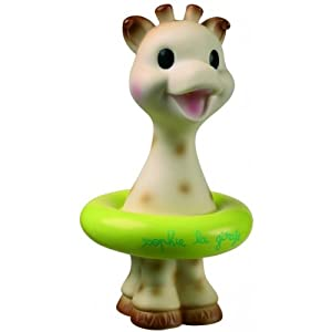 Vulli Sophie Giraffe Bath Toy - Colors May Vary