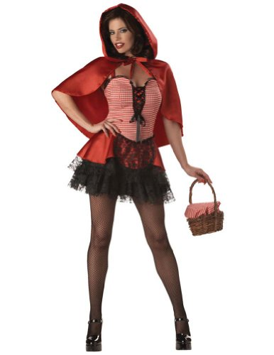 Red Hot Riding Hood Adult S Adult Womens Costume