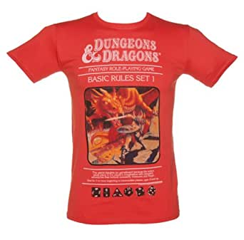 Mens Dungeons and Dragons T Shirt
