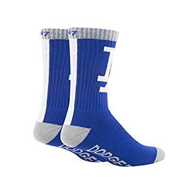 Los Angeles Dodgers - Logo Royal Blue Bolt Sports Socks