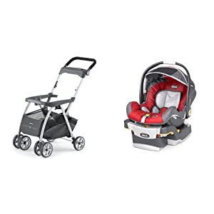 Chicco Keyfit 30 Infant Car Seat with Caddy, Snap Dragon