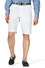 Blue Harbour Cotton Rich Shorts with Belt [T17-7745B-S]