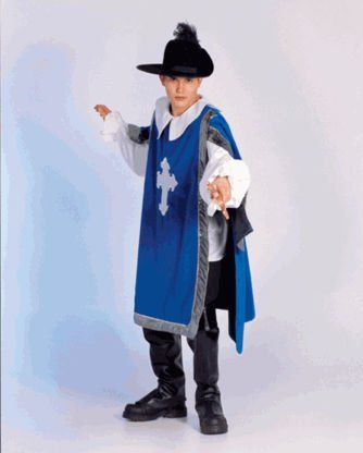 Secrets a Division of J Nunley SAM-11S Musketeer-S Tunic, Shirt, Cape