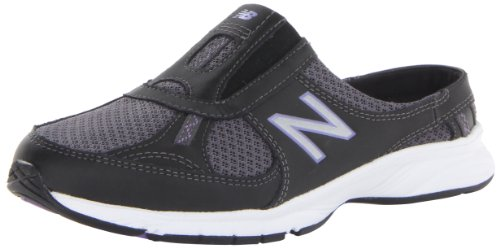 New Balance Women'S Ww520 Walking Shoe,Black/Purple,9.5 D Us