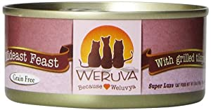 Weruva Cat Food, Mideast Feast, 5.5-Ounce Cans (Pack of 24)