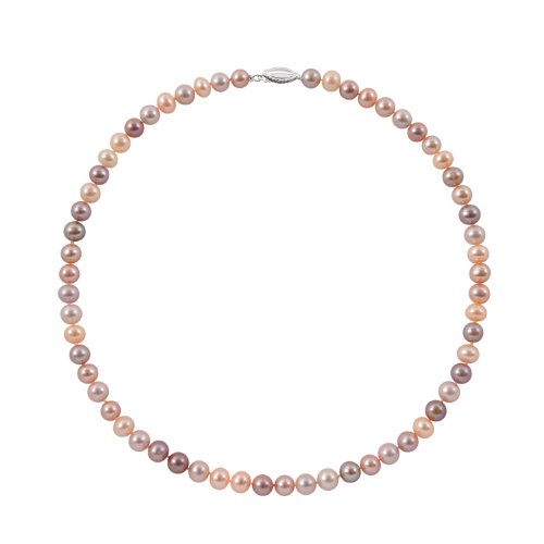 5.5-6mm Multicolor Freshwater Pearl Necklace