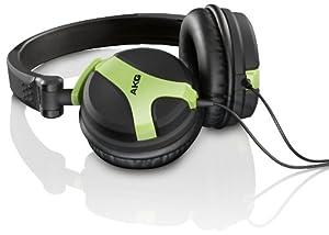 AKG K 518 NE DJ-Kopfhörer neon gelb