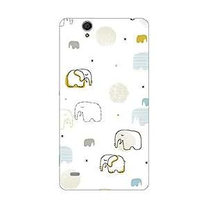 Garmor Designer Silicone Back Cover For Sony Xperia C4 E5303