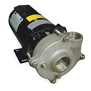 Dayton Centrifugal Pump, 1.5 HP, 3 Ph, 208-230/460 - 2ZWU7