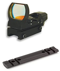 Mossberg 500 590 835 Tactical Rail Scope Mount And 4 Reticle Reflex Sight Combo Set by m1surplus