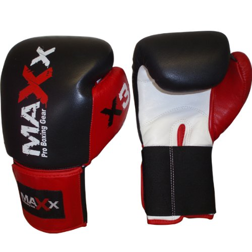 MAXX Pro Fight Rex Leather Boxing Gloves Punch