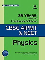 29 Years Physics Chapterwise Solutions for CBSE AIPMT & NEET