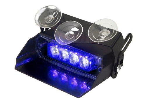 Lumax Flash Dash Vehicle Emergency Led Light Blue/Blue