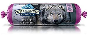 Wilderness Blue Buffalo Beef Roll Wet Dog Food, 1 lb