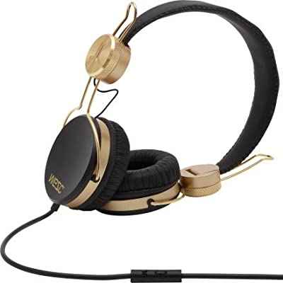 WESC Banjar Golden Headphones with Mic