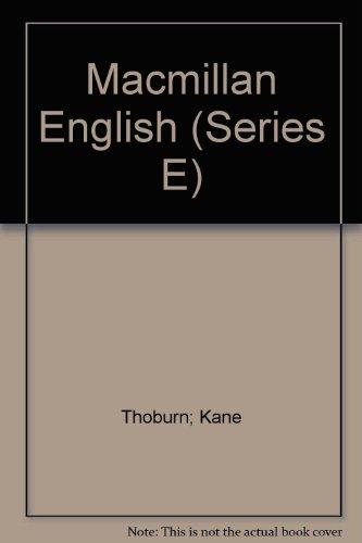 Macmillan English (Series E) PDF