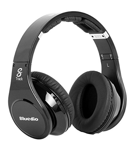 Click to buy Bluedio R-wh Wired Headband 8 Tracks Headphones Stereo Hifi Music Headset for Computer Black Colour - From only $59.99