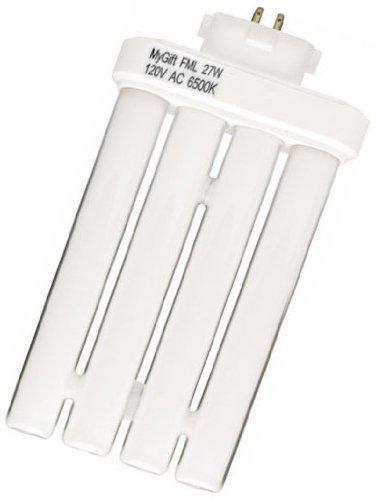 Mygift Fluorescent Linear Quad Replacement Light Bulb