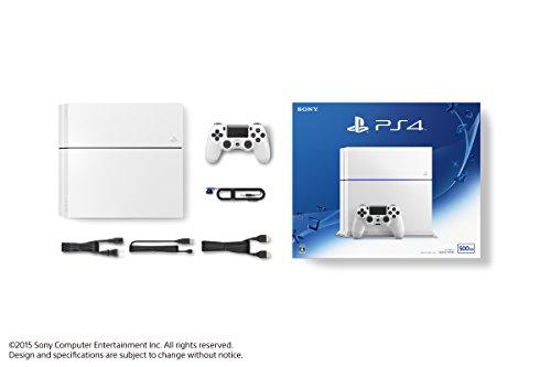 PlayStation 4 グレイシャー・ホワイト (CUH-1200AB02)