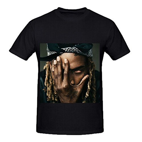 Fetty Wap Mens Crew Neck Short Sleeve Shirt Black (Seal Team Seven 21 compare prices)
