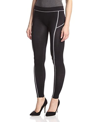 Romeo & Juliet Couture Women's Seamless Piped Leggings