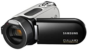Samsung HMX-H100 HD-Camcorder (Full HD 1920x1080 50i - SD/SDHC-Card, 10-fach opt. Zoom, Xenon-Blitz, 37mm Weitwinkel, 6,9 cm (2,7 Zoll) Touchscreen ) schwarz