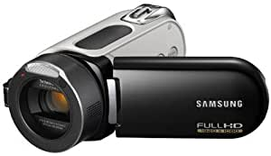 Samsung HMX-H100 HD-Camcorder (Full HD 1920x1080 50i - SD/SDHC-Card, 10-fach opt. Zoom, Xenon-Blitz, 37mm Weitwinkel, 6,9 cm (2,7 Zoll) Touchscreen ) schwarz