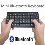 Handheld Bluetooth HID Wireless Chicklet Keyboard with Mouse Control Combo for Media Center PC, Windows 7/Vista/XP, Apple iPad/iPhone 4 & Sony PS3by Generic