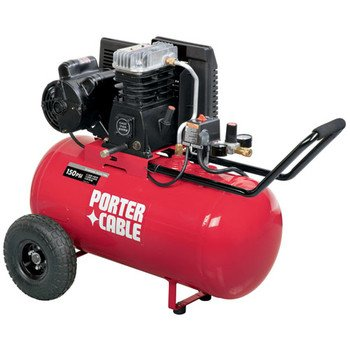 Porter Cable C5512 20 Gallon Horizontal Compressor