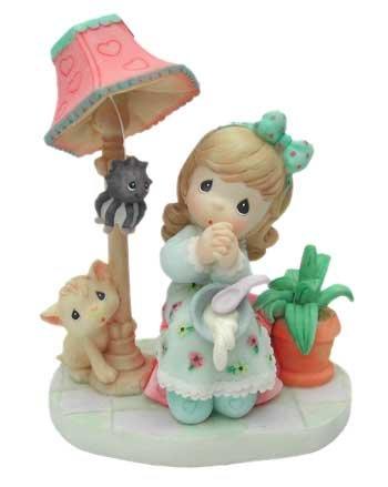 プレシャスモーメント フィギュア Little Miss Muffet Precious Moments4392