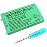 Rechargable 700 mAh Battery for GameBoy Advance SP GBA SP