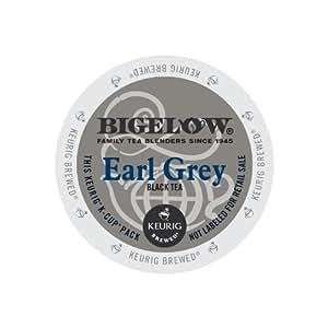 Bigelow Earl Grey Tea, Keurig K-Cups, 72 Count