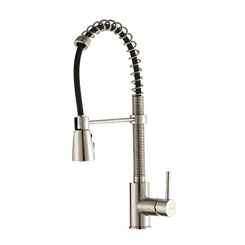 Best Price! Kraus KPF-1612SS Single Lever Pull Down Kitchen Faucet in Stainless Steel