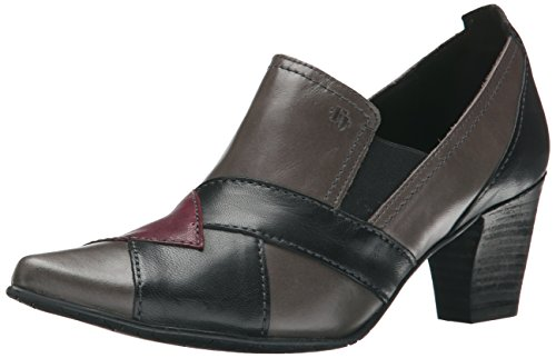 Fidji Women's V312 Dress Pump, Grey Wine Black, 39 EU/9 M US (Fidji 39 compare prices)