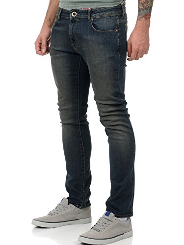 Jeans Volcom Riser Vertiver Grigio (32 Vita X 34 = Eu 46 , Grigio)