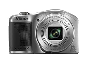 Nikon COOLPIX L610 16 MP Digital Camera with 14x Zoom NIKKOR Glass Lens and 3-inch LCD (Silver)