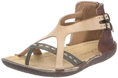 kickers pamplune sandales femme marron multicolore 36 eu chaussures et sacs. Black Bedroom Furniture Sets. Home Design Ideas