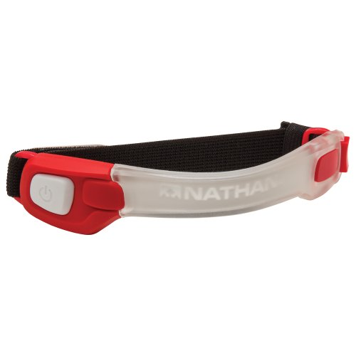 Nathan Light Bender Led Band, Tango Red, One Size
