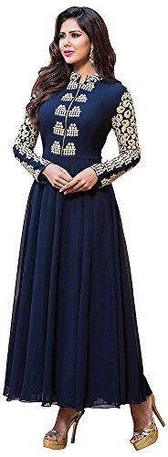 Chariot-Ethics-Womens-Georgette-Semi-Stitched-Salwar-Suit-Set-H136
