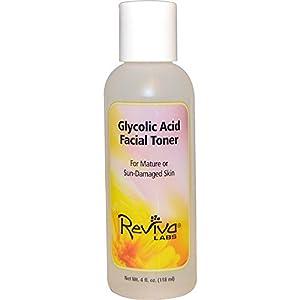 Reviva Labs, Glycolic Acid Facial Toner, 4 fl oz (118 ml)