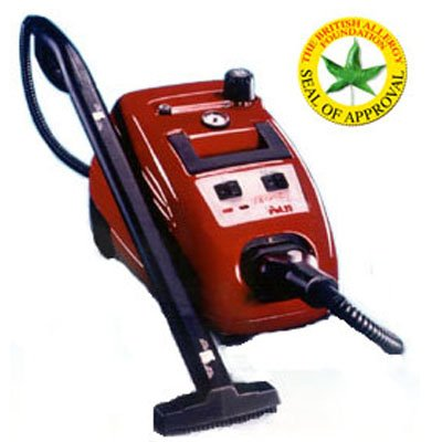 genuine polti vaporetto 2400 steam cleaner with 4 cloths