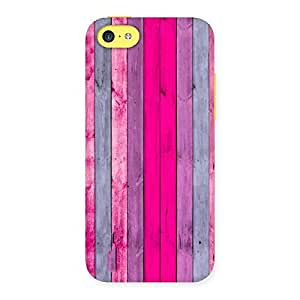 Pink Wall Multicolor Back Case Cover for iPhone 5C