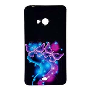 VAV New Sparkle Printed Soft Back Case Cover For Microsoft Lumia 540