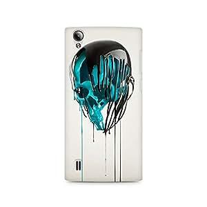 Mobicture Skull Art Premium Printed Case For Vivo Y15