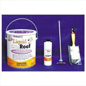 Liquid Rubber Roof, White, 1 gal